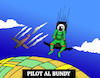 Cartoon: Pilot Al Bundy... (small) by berk-olgun tagged pilot,al,bundy