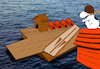 Cartoon: Plane Ship... (small) by berk-olgun tagged plane,ship