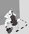 Cartoon: Poor Cellist... (small) by berk-olgun tagged poor,cellist