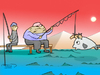 Cartoon: prazanta.. (small) by berk-olgun tagged prazanta