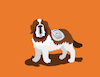 Cartoon: Saint Bernard... (small) by berk-olgun tagged saint,bernard