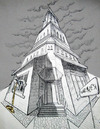 Cartoon: Sea Museum.. (small) by berk-olgun tagged sea,museum