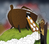 Cartoon: Shepherd... (small) by berk-olgun tagged shepherd