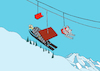 Cartoon: Ski Jumping... (small) by berk-olgun tagged ski,jumping