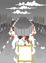Cartoon: Snow... (small) by berk-olgun tagged snow
