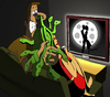 Cartoon: The Love Film... (small) by berk-olgun tagged the,love,film