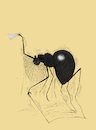 Cartoon: The Old Spider... (small) by berk-olgun tagged the,old,spider