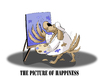 Cartoon: The Picture of Happiness... (small) by berk-olgun tagged the,picture,of,happiness