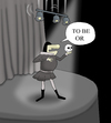 Cartoon: TO BE OR.. (small) by berk-olgun tagged to,be,or
