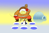 Cartoon: Whack a Penguin... (small) by berk-olgun tagged whack,penguin