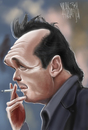Cartoon: MICHAEL MADSEN (small) by Marian Avramescu tagged mmmmm