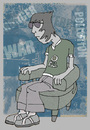 Cartoon: chilling (small) by jenapaul tagged youth,society,politics,live,culture