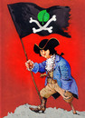 Cartoon: Pirate (small) by Wiejacki tagged ecology,pirate