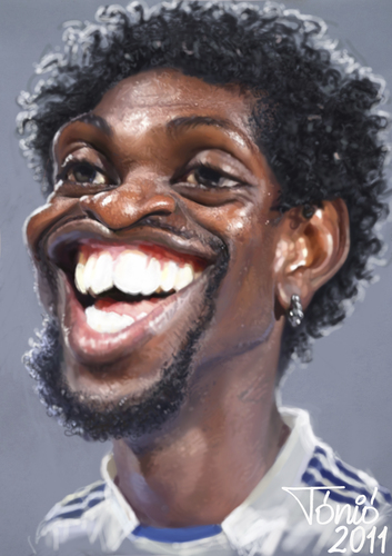Emmanuel Adebayor Real Madrid