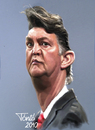 Cartoon: Louis van Gaal (small) by Tonio tagged trainer coach bayern münchen holland dutch ajax amsterdam