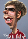 Cartoon: Philipp Lahm FC Bayern (small) by Tonio tagged international german soccer football nationalmanschaft münchen karikatur fussball