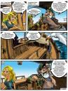 Cartoon: Comic page (small) by zsoldos tagged rejto,jeno,howard