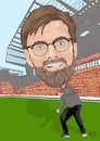 Cartoon: Klopp Liverpool (small) by Vandersart tagged liverpool,cartoon,caricature