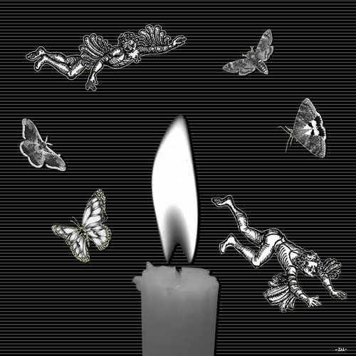 Cartoon: candlelight (medium) by zu tagged candle,candlelight,daedalus,icarus,durer