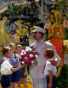 Cartoon: Stalin in Tahiti (small) by zu tagged stalin,tahiti