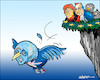 Cartoon: Fledged (small) by jeander tagged theresa,may,merkel,hollande,brexit