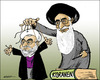 Cartoon: Iran (small) by jeander tagged hassan,rowhani,iran,election