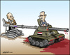 Cartoon: The Partner (small) by jeander tagged al,assad,syria,russia,putin
