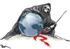 Cartoon: Terrorism (small) by Popa tagged terrorism,is