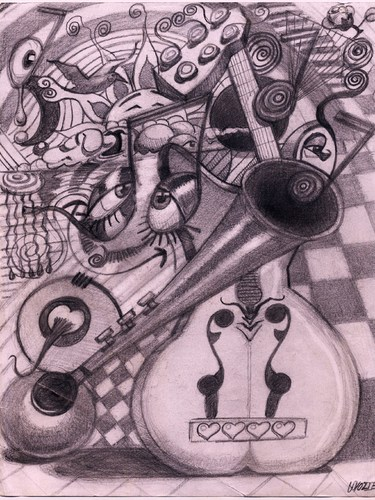 Cartoon: TERAPEUTIC DRAWIN (medium) by GOYET tagged surrealistic,surreal,drawin