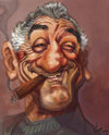 Cartoon: BOBY.  THE BIGEST DE NIRO (small) by GOYET tagged niro