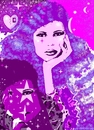 Cartoon: digital pop portrait (small) by GOYET tagged digital,portrait,womed
