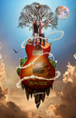 Cartoon: FRENDS (small) by GOYET tagged frends,photomanipulation,music,surreal