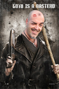 Cartoon: ME BASTERD (small) by GOYET tagged photomanipulation,basterd,tarantino,auto,photo