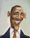 Cartoon: OBAMA my last version (small) by GOYET tagged obama,best,president,politics,cartoon