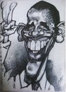 Cartoon: OBAMA STUDIO (small) by GOYET tagged obama,cartoon,president