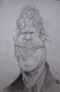 Cartoon: RON PERLMAN (small) by GOYET tagged ron,perlman,actor,celebretie,cartoon,caricature