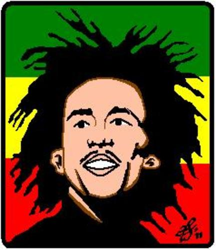 Cartoon: bob marley (medium) by diko tagged singer