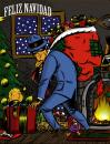 Cartoon: SPIRIT OF THE CHRISTMAS (small) by Jorge Fornes tagged illustration
