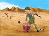 Cartoon: master fisherman (small) by hakanipek tagged war,violence,evil,irony