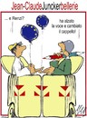 Cartoon: cassonettari in europa (small) by Enzo Maneglia Man tagged cassonettari,man,maneglia,fighillearte