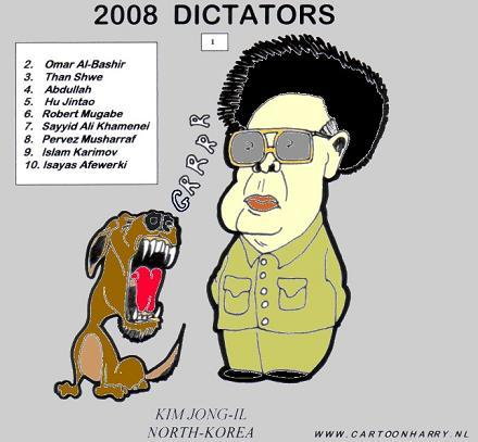 Cartoon: Kim Jung Il (medium) by cartoonharry tagged kim,dictator,northkorea
