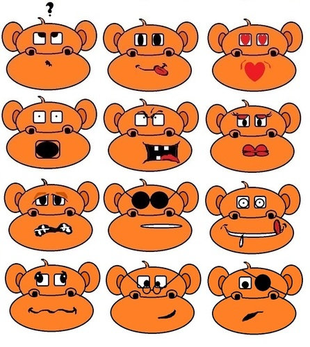 Cartoon: MonkeyTonkeys nr2 (medium) by cartoonharry tagged monkeytonkeys