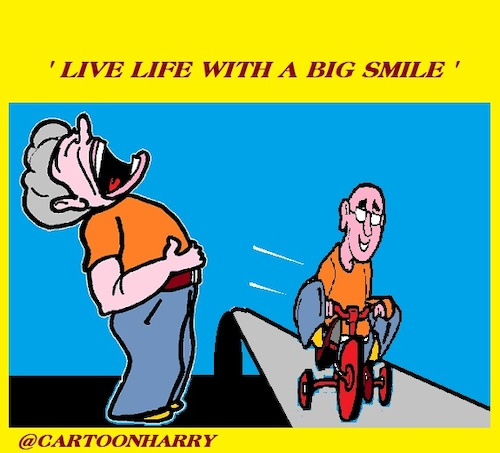 Cartoon: Smile (medium) by cartoonharry tagged smile