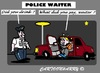 Cartoon: Another Drink Please (small) by cartoonharry tagged police,waiter,car,drunk
