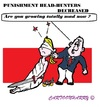 Cartoon: Bad Judgement (small) by cartoonharry tagged holland,judgement,bad,headhunters,toonpool