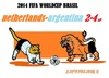 Cartoon: Drama Netherlands (small) by cartoonharry tagged fifa,soccer,2014,netherlands,argentina,germany,support