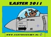 Cartoon: Easter 2011 (small) by cartoonharry tagged war easter bunny bunnies cartoonharry