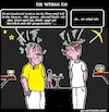 Cartoon: Er Weiss (small) by cartoonharry tagged wissen,cartoonharry