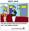 Cartoon: Erste Hilfe (small) by cartoonharry tagged hilfe,mädchen,toilette,gebrochen,hände,pinkeln,cartoon,cartoonist,cartoonharry,deutsch,dutch,holland,toonpool