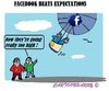 Cartoon: Facebook (small) by cartoonharry tagged usa,facebook,upgoing